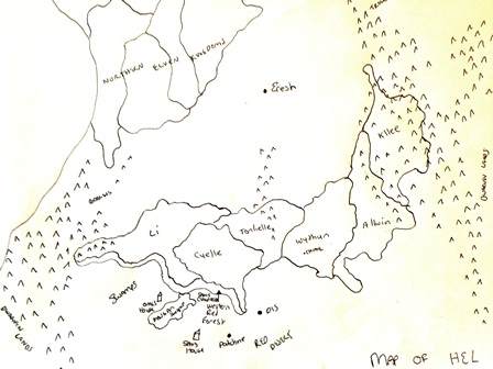 Map of Hel