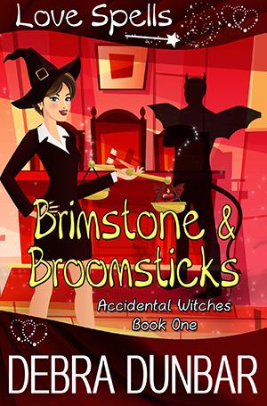 Book Cover: Brimstone and Broomsticks
